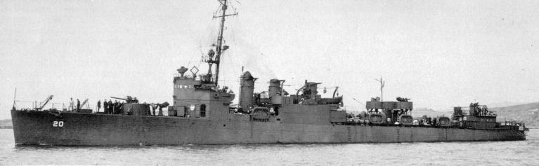DM-20 USS Preble - Courtesy of www.navsource.org