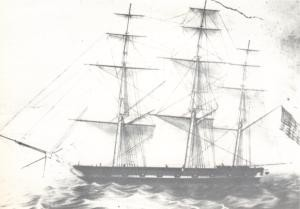 Sloop-Of-War USS PREBLE - 1839